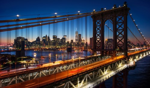Brooklyn Bridge<br>布魯克林大橋